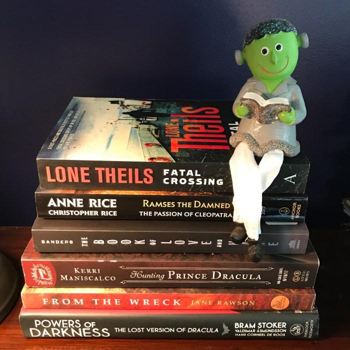 My #RIPXII TBR with Frankenreader (WildmooBooks.com)