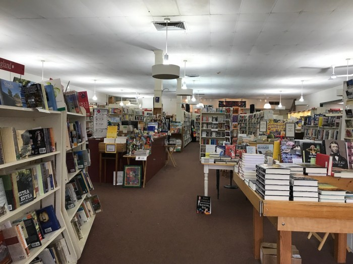 Toadstool Bookshop, Peterborough, NH (WildmooBooks.com)