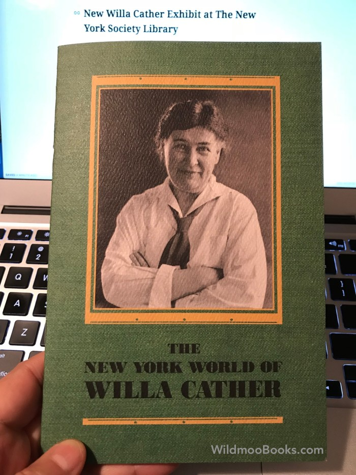 The New York World of Willa Cather at The New York Society Library (WildmooBooks.com)