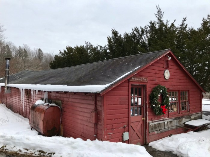 Whitelock's Lower Barn, January 2018 (WildmooBooks.com)