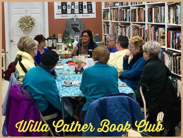 Willa Cather Book Club at Book Club Bookstore & More in South Windsor, CT (WildmooBooks.com)
