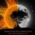 Dewey's 24 Hour Readathon Day & Night