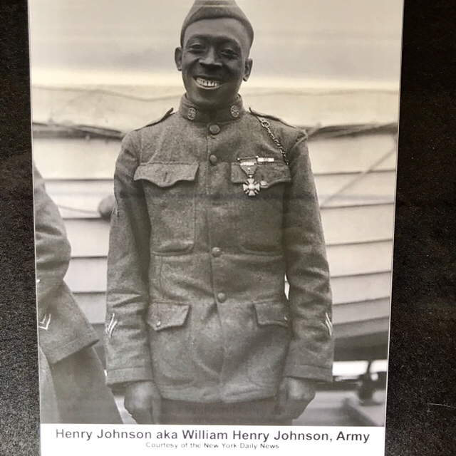 William Henry Johnson, Medal of Honor recipient, Pritzker Military Museum and Library (WildmooBooks.com)