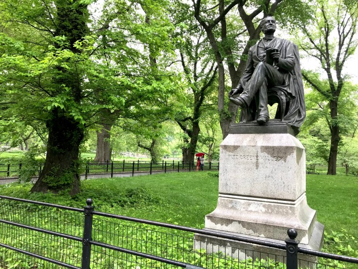 Fitz-Greene Halleck Central Park 1 (WildmooBooks.com)
