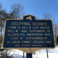 Stepping Stones Historic Plaque