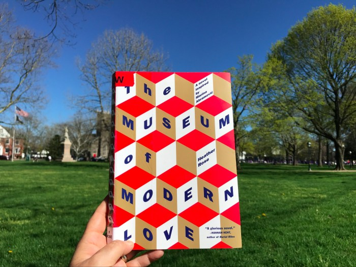 The Museum of Modern Love by Heather Rose (ChrisWolak.com)