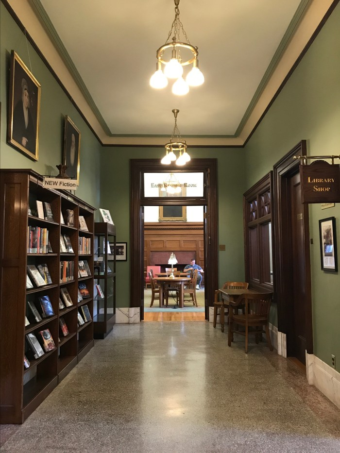East Reading Room at The Handley Library in Winchester, VA