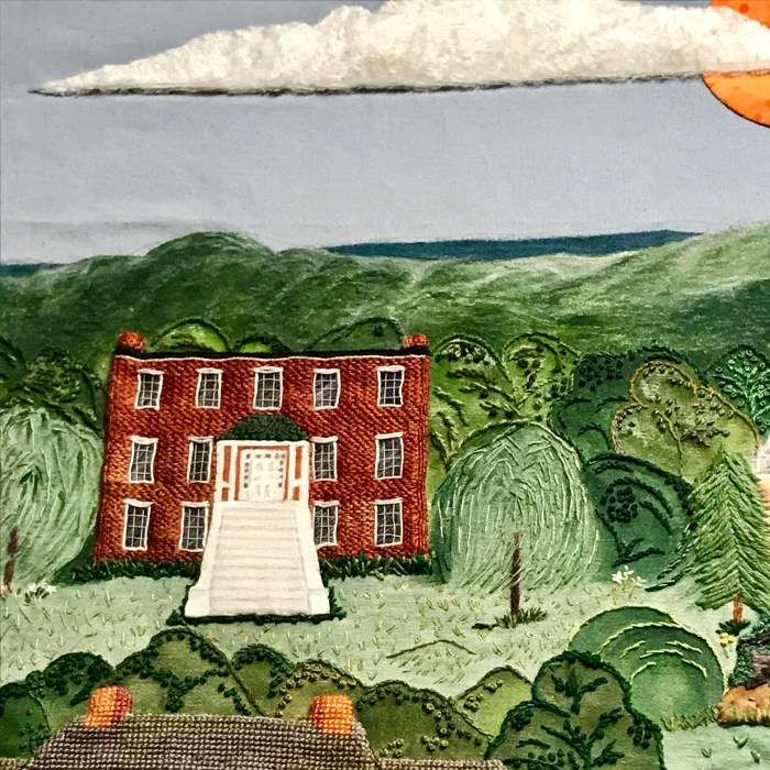 Willow Shade from The Shenandoah Valley Tapestry at The Handley Library in Winchester, VA