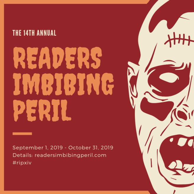 14th Annual Readers Imbibing Peril #RIPXIV