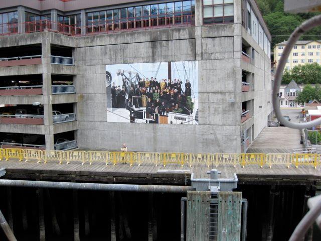 Juneau Public Library - mural