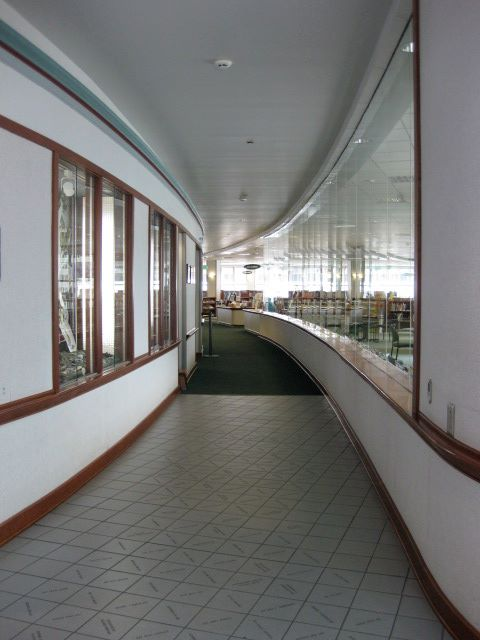 Library Visit: Juneau, Alaska - entry hall