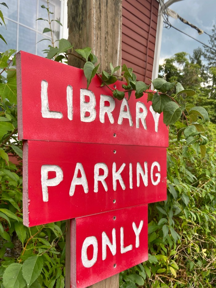 Library Parking Only East Glastonbury Library
