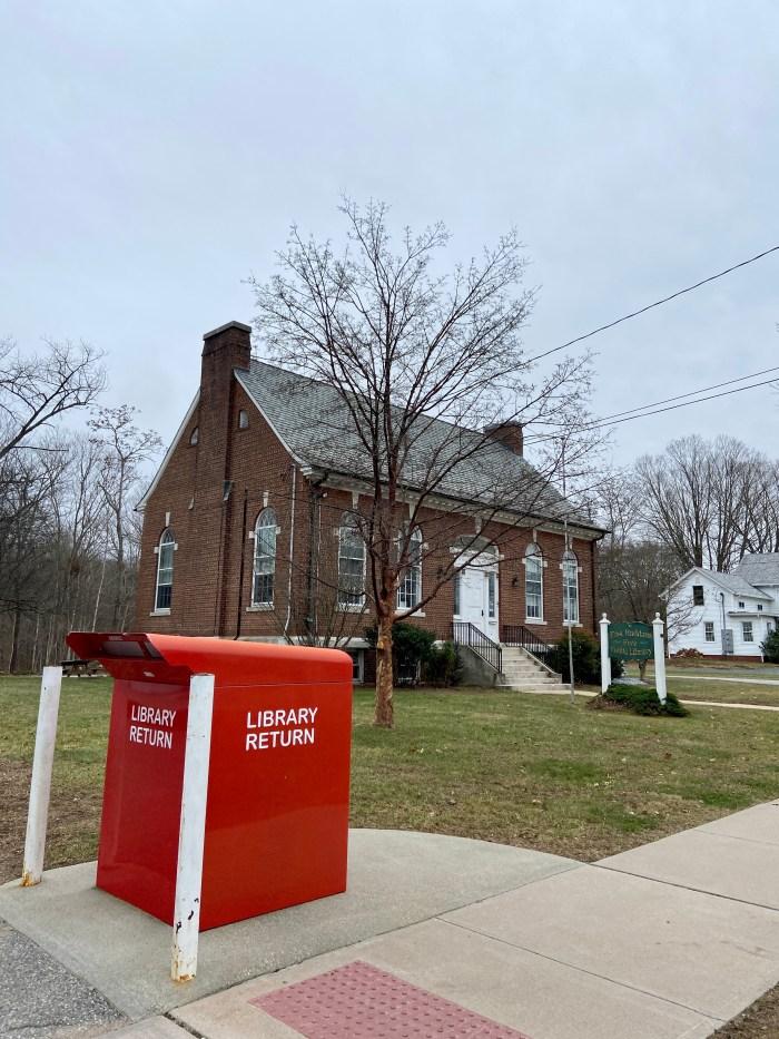 Library Return Box - East Haddam Free Public Library