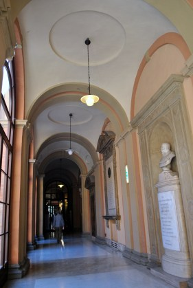 At the Alma Mater University of Bologna