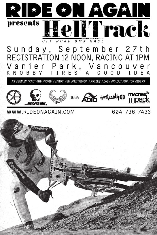 Ride On Again Hell Track poster