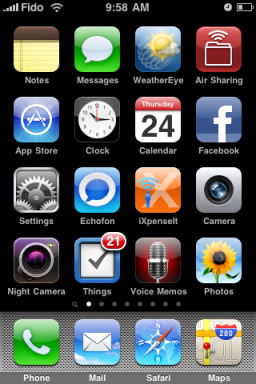 iPhone screen page 1 (IMG_2023)