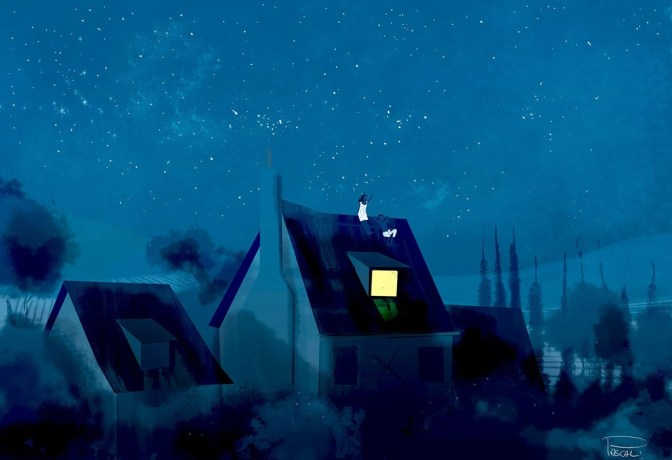 rooftop_kind_of_night_by_pascalcampion-d9yof0a