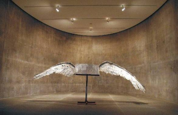 Mathematics   Chromapoetica Book with Wings by Anselm Kiefer