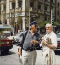Ashbery and Koch in Thessaloniki 1997
