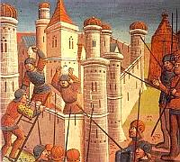 The siege of Constantinople