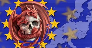 EU Skull Dragon