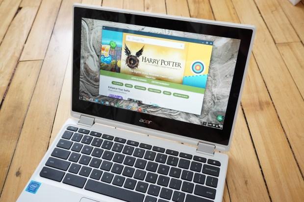 Tous les Chromebooks de 2017 supporteront les applications Android