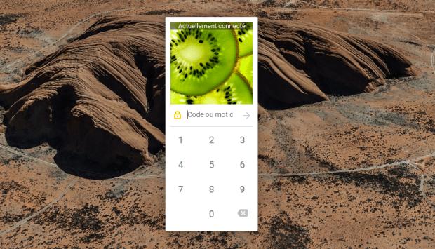 S'authentifier avec un code PIN sur Chromebook