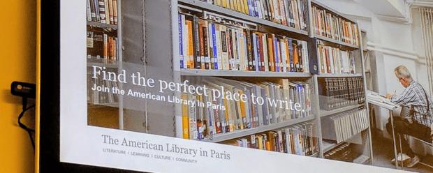 L'American Library in Paris s'équipe de solutions sous Chrome !