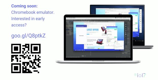 Un émulateur Chromebook pour les développeurs Android !
