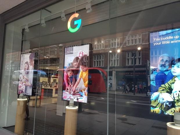 A la visite du Google Shop de Londres !