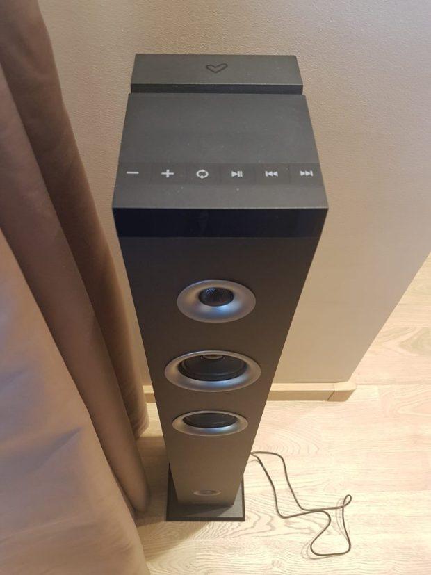 Energy Tower 3g 2 : une tour de son compatible avec votre Chromebook