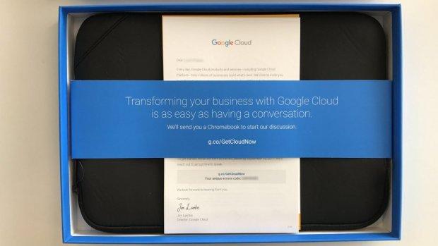 Quand Google taquine Microsoft Azure avec des Chromebooks