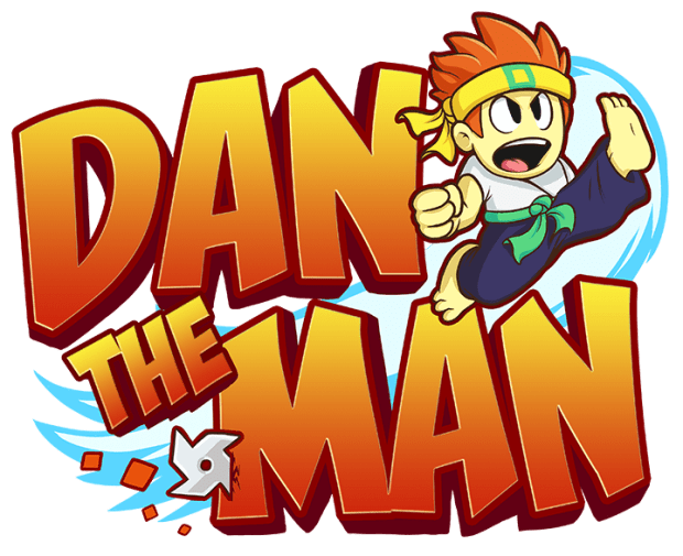 Dan the Man Logo