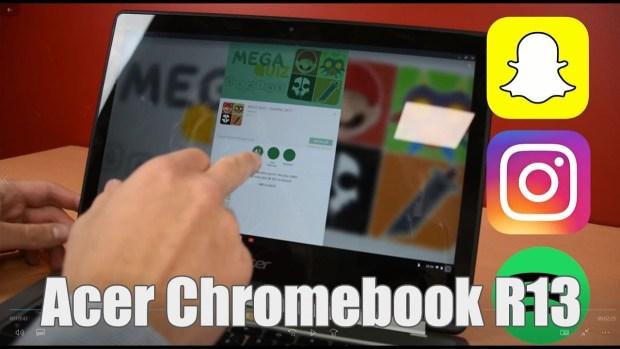 Test du Acer Chromebook R13 en vidéo