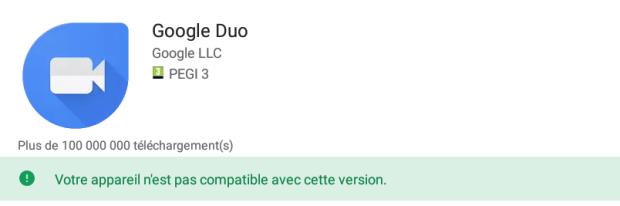 Google Duo serait bientôt compatible avec nos Chromebooks