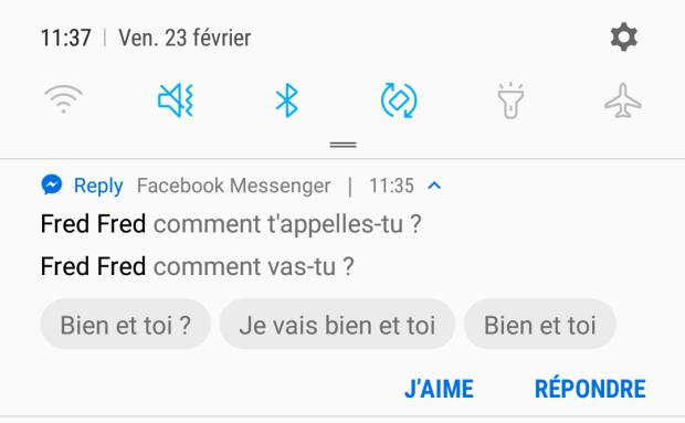 Google Reply vous permet de répondre rapidement à vos diverses notifications