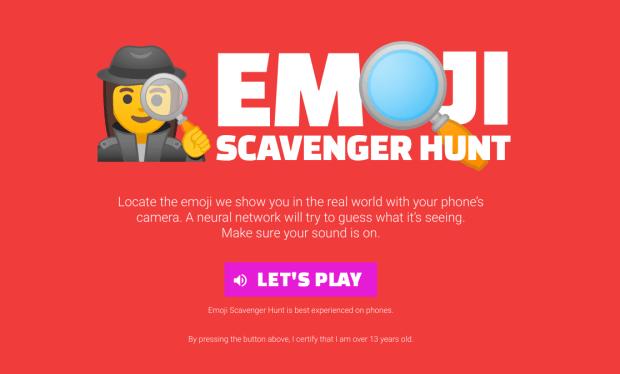 Emoji Scavenger Hunt : trouvez les emojis dans la vie réelle