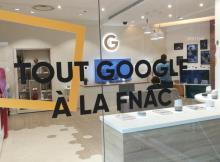 Un Google Shop vient d'ouvrir au sein de la Fnac !