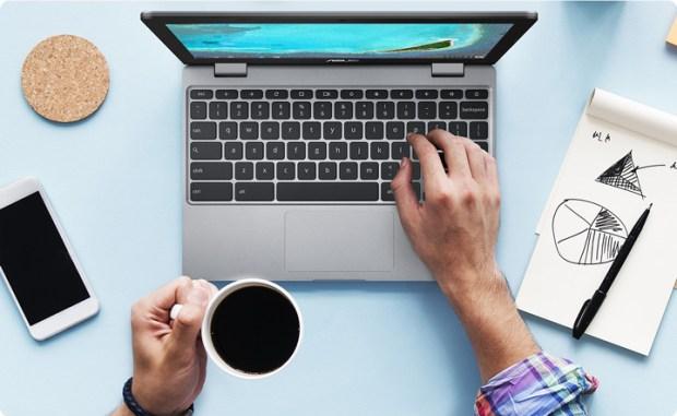 Asus Chromebook 12 C223 : le nouveau Chromebook 12 pouces léger de chez Asus !