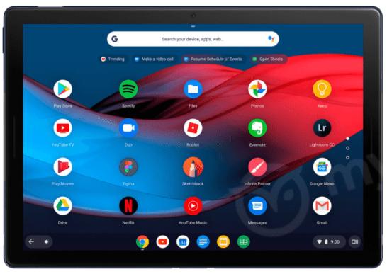 Google Pixel Slate : encore quelques nouvelles images de la tablette...