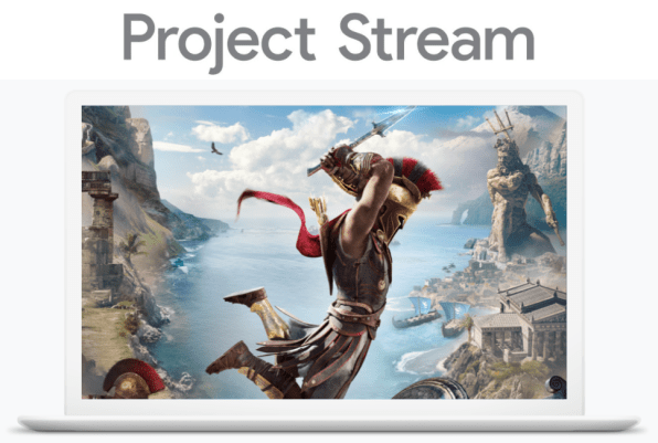Google Project Stream : du jeu vidéo en streaming à partir de Chrome