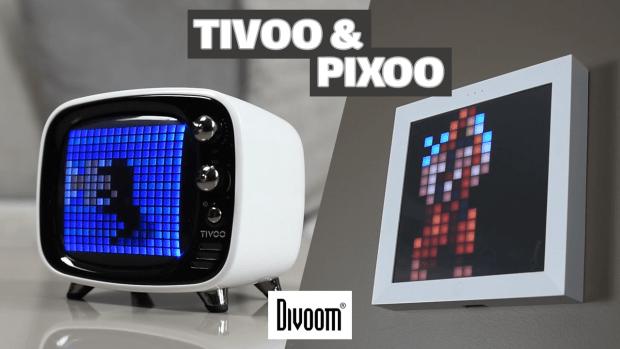 Test vidéo des objets connectés TIVOO et PIXOO sur Tech Live