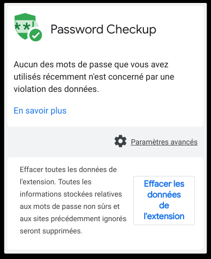 Password Checkup : l'extension Google pour vos mots de passe !