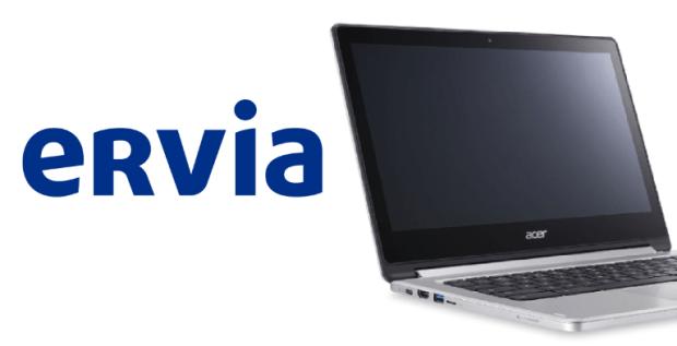"""Ervia & Chromebooks : """"C'est la meilleure chose que l'IT a  fait pour nous !"""""""