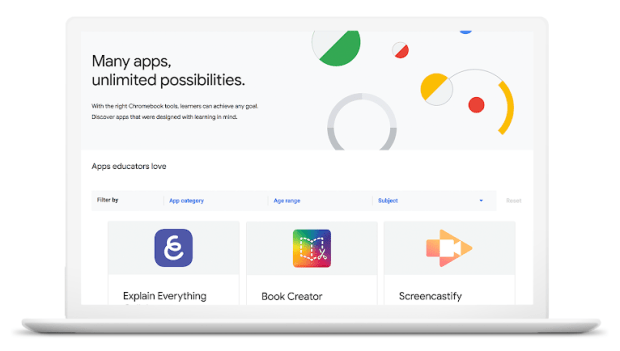 Chromebook App Hub : du nouveau pour le monde éducatif !