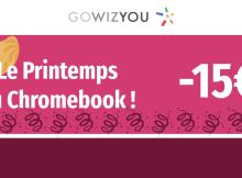 GoWizYou : -15 € sur les Chromebooks !
