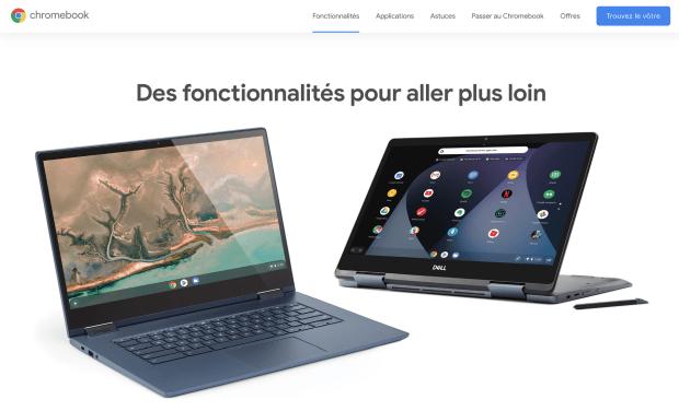 Google France : mon petit coup de gueule sur les Chromebooks !