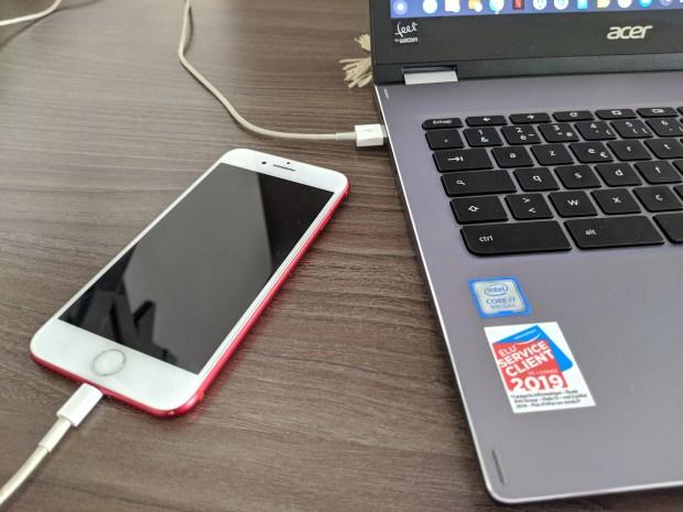L'USB tethering pour les iPhones bientôt sur Chromebook !
