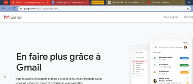 Chrome OS : vous pourrez bientôt grouper vos onglets !