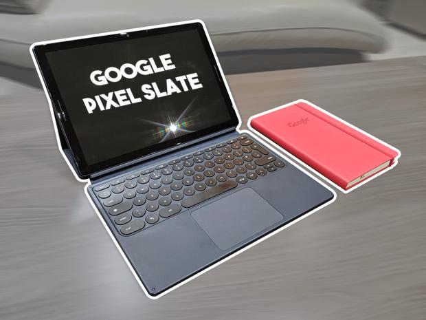 Google Pixel Slate - Test vidéo